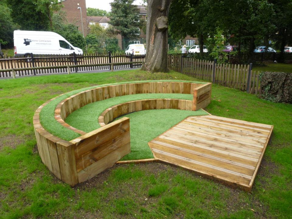 amphitheatre seating