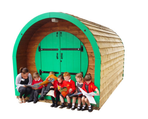 outdoor classroom pod