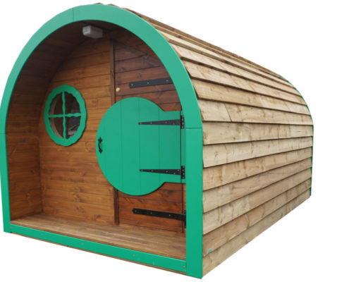 the outdoor classrom pod