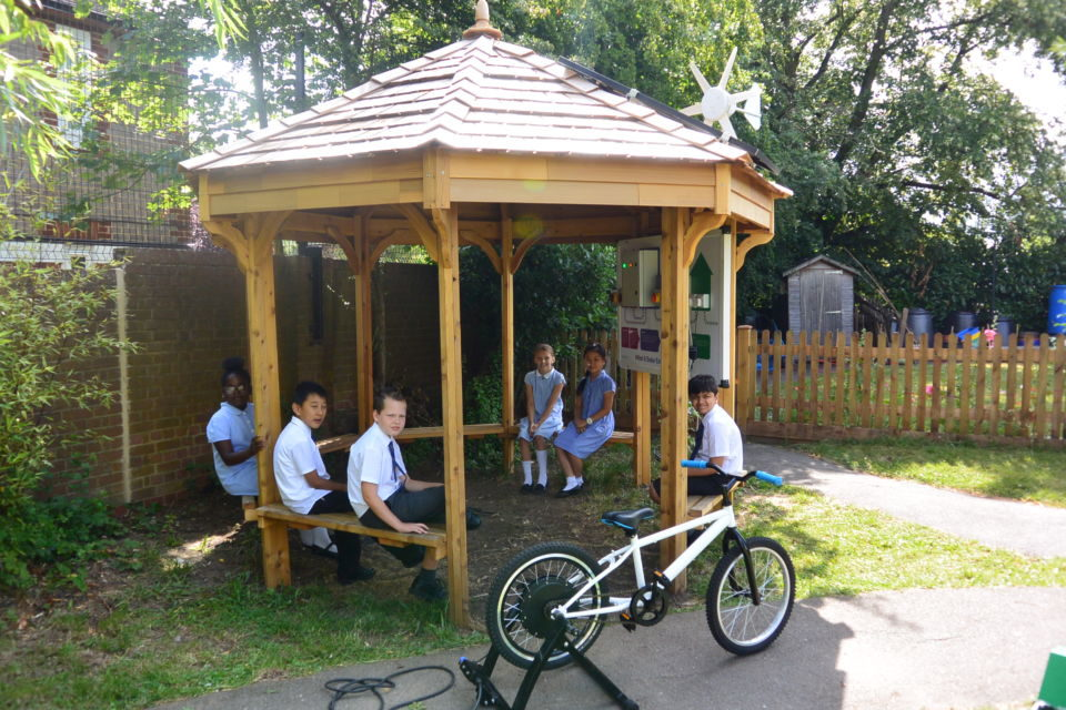 Eco Classroom At Morden Primary School The Hideout House