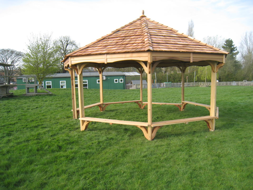 Outdoor Shelters Classrooms