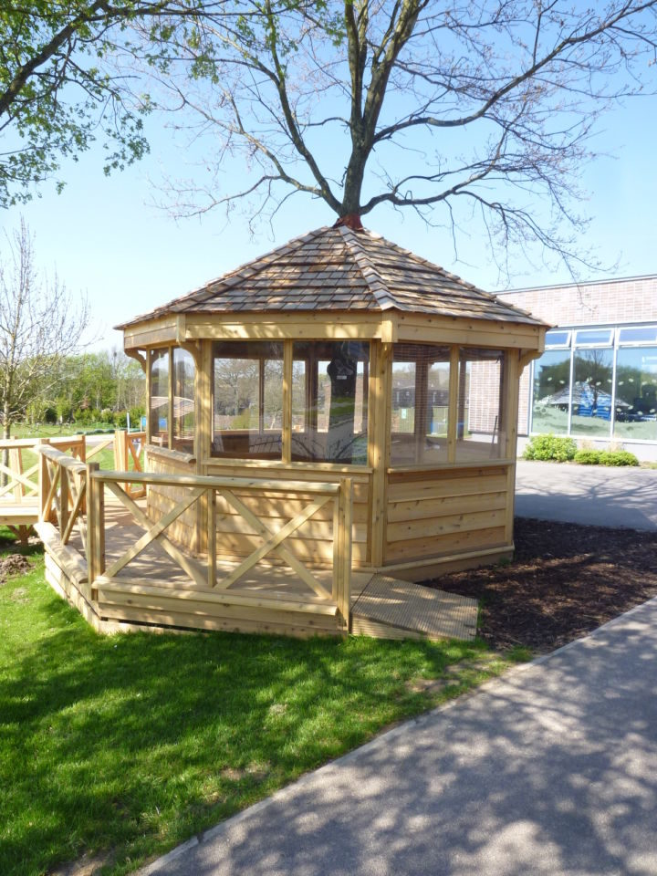 Treehouses For Schools The Hideout House Company