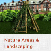 nature areas and landscaping