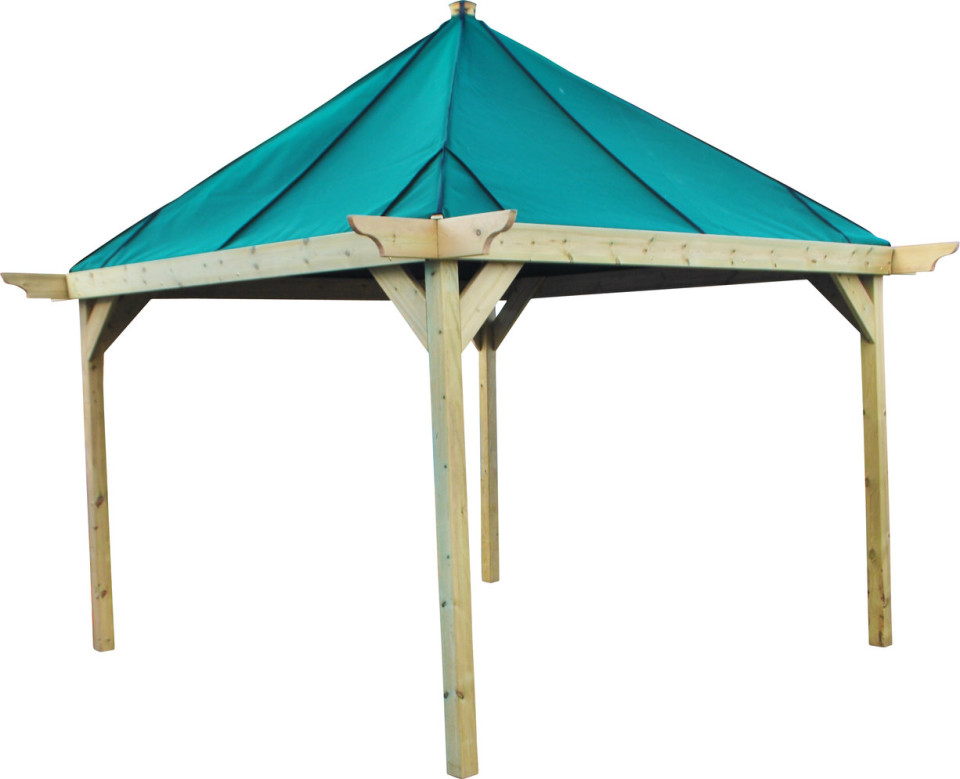Outdoor Canvas Shelters : Outdoor shelters with canvas roof the hideout house company