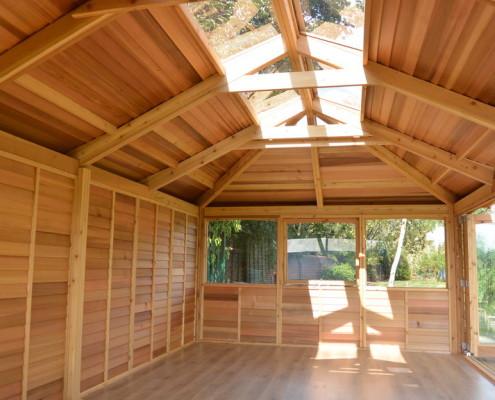 enclosed outdoor classrooms