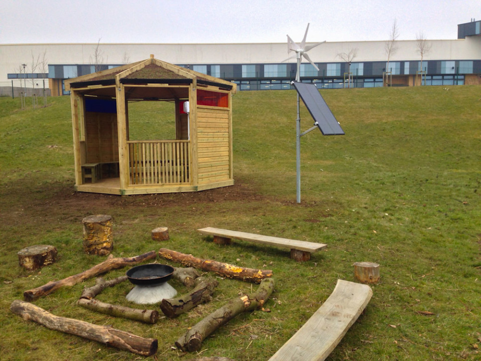 Outdoor Classroom Amp Eco Hub The Hideout House Company
