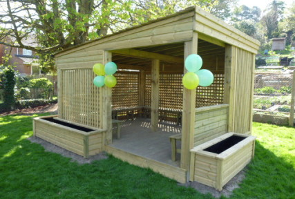 The Eco Outdoor Classroom 4m x 4m