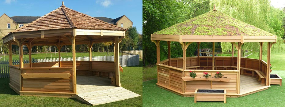 Outdoor Classrooms And Shelters For Schools Nurseries And