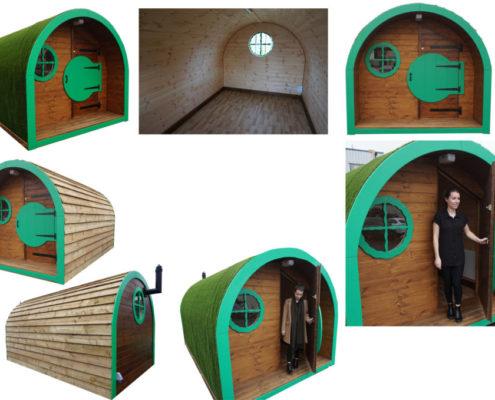 the outdoor classroom pod
