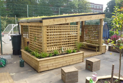 The Eco Outdoor Classroom 2.4m x 4m