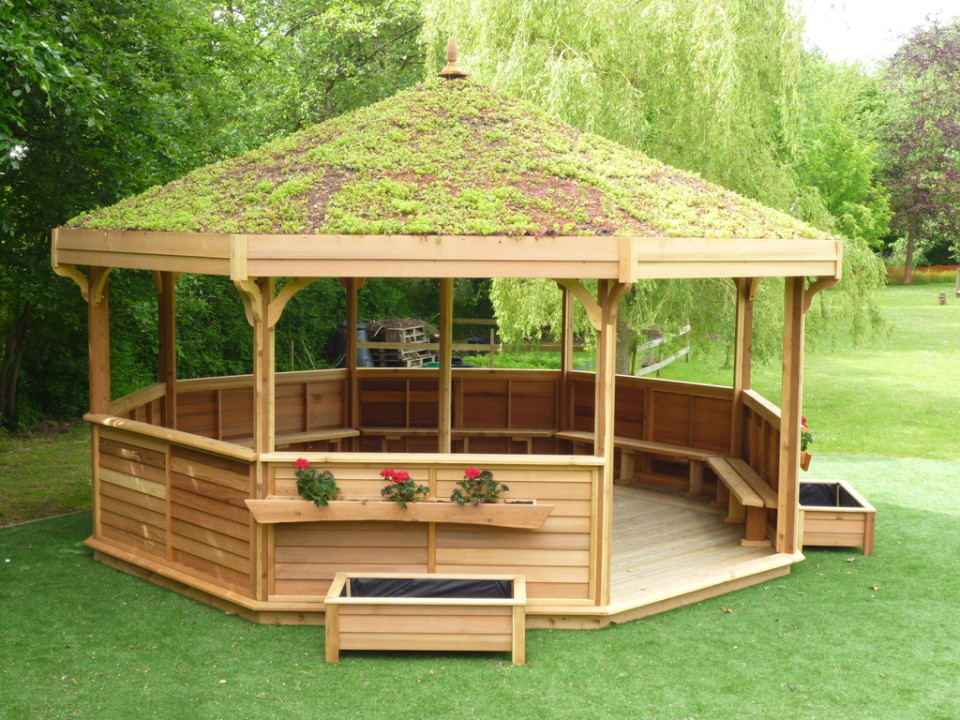 Design Ideas For The Outdoor Classroom ~ Octagonal classrooms the hideout house company