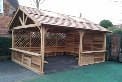 Outdoor Shelters For Playgrounds