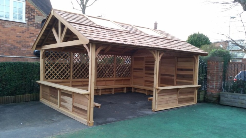 Merveilleux Outdoor Shelters For Playgrounds ...