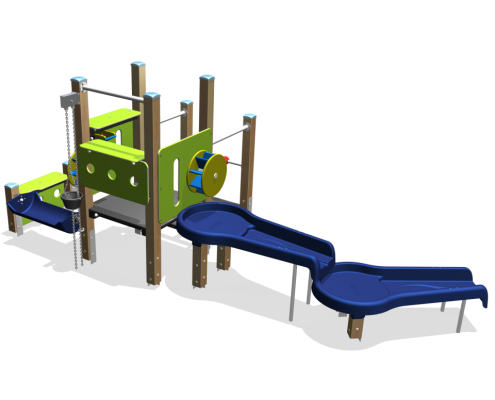 recycled plastic play equipment