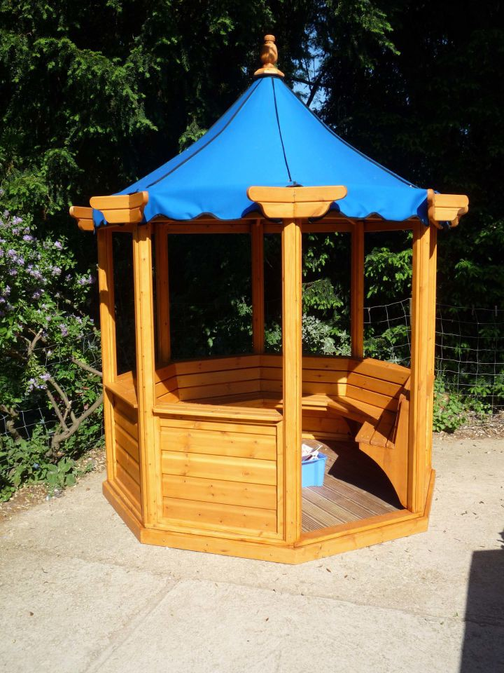 Outdoor Canvas Shelters : Outdoor classrooms and shelters
