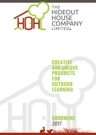Hideout House Brochure 2017