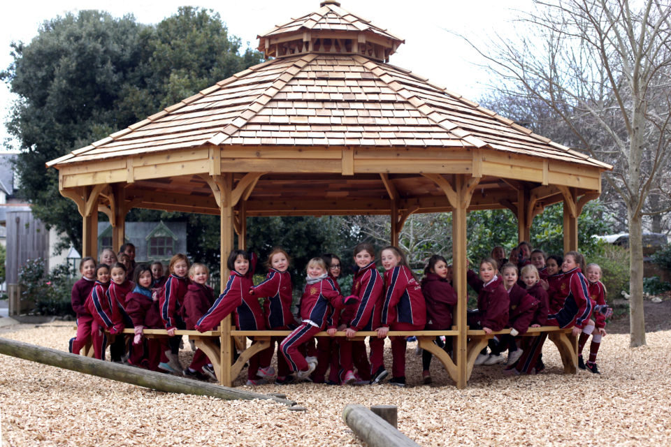 Fire Pit Shelter Outdoor Classroom The Hideout House Company